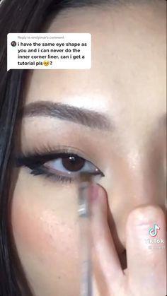 Indie Makeup, Edgy Makeup, Grunge Makeup, Eye Makeup Art, Asian Makeup, Cute Makeup, Pretty Makeup, Makeup Tutorial Eyeliner, Makeup Looks Tutorial