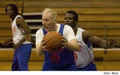 At 73yrs young he gives the young guns a run for their money!