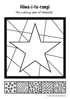 MATARIKI - Wishing Star by Suzanne Welch Teaching Resources | Teachers Pay Teachers