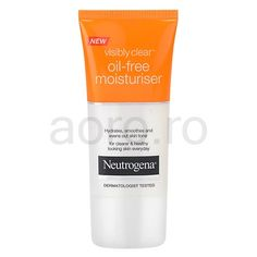 Neutrogena Visibly Clear Oil-free Moisturiser crema hidratanta | aoro.ro