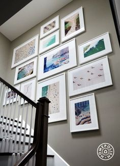 Unique wall photo display Ideas For You (26)