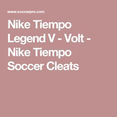 Nike Tiempo Legend V - Volt - Nike Tiempo Soccer Cleats