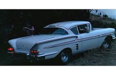 """1958 Chevrolet Bel Air Impala Sport Coupe from """"American Graffiti"""" - Chevrolet Bel Air, Chevrolet Impala, Chevy, My Dream Car, Dream Cars, American Graffiti, Unique Cars, Hot Cars, Classic Cars"""