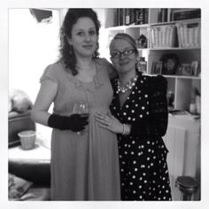 The mother and aunty to be.