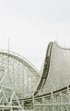 Nothing better than an old school wooden roller coaster to get your adrenaline up!