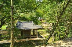 담양 소쇄원 광풍각과 제월당