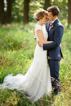 #bruidspaar #bruiloft #trouwen #trouwdag #huwelijk #inspiratie #idee #real #wedding #inspiration Trouwen op De Treeswijkhoeve | Photography: Mon et Mine | ThePerfectWedding.nl