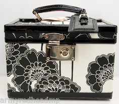 KATE-SPADE-JAPANESE-FLORAL-BLACK-CREAM-COSMETIC-TRAIN-CASE-LUGGAGE
