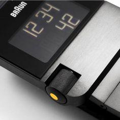 Black Stainless Steel Mens Digital Watch BN0106BKBTG