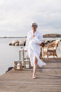"""La firma sueca #Affari ha lanzado una nueva linea de """"SPA"""" con productos como toallas y albornoces de bamboo/algodón  #spatime #estilonordico"""
