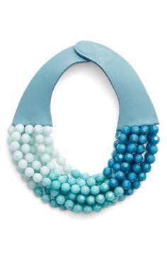 Fairchild Baldwin Multirow Beaded Collar Necklace available at #Nordstrom