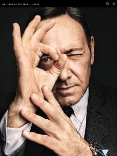 House of Cards star Kevin Spacey is transforming the way we watch TV, and is Power Broker of the Year in GQ Magazine's Men of the Year 2013 issue Kevin Spacey, Photography Poses For Men, Portrait Photography, Don Corleone, Gq Men, Celebrity Portraits, Male Portraits, Men Portrait, Actrices Hollywood