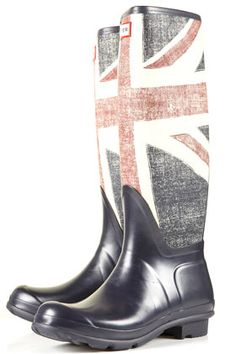 Hunter original Brit Wellies
