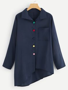 Dress Shirts For Women, Blouses For Women, Blouse Styles, Blouse Designs, Stylish Dresses For Girls, Next Clothes, Fashion Sewing, Shirt Blouses, Fashion Dresses