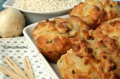 Muffin di riso ai funghi