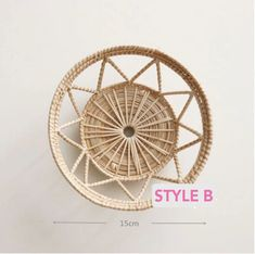 HQ Rattan Round TrayRound Rattan BasketRattan   Etsy Rattan Lamp, Bamboo Lamp, Basket Tray, Rattan Basket, Bamboo Pendant Light, Round Tray, The Fragile, Breakfast In Bed, Incandescent Bulbs