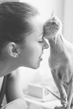 """She and Cat ❁❁❁Thanks, Pinterest Pinners, for stopping by, viewing, pinning, & following my boards.  Have a beautiful day! ❁❁❁ **<>**✮✮""""Feel free to share on Pinterest""""✮✮"""" #gifts www.fashionandclothingblog.com"""