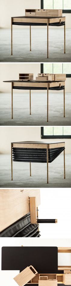 The perfect Sneaky desk - Secret Desk par Magdalena Tekieli