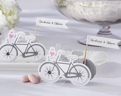 Vintage Bicycle Wedding Favour Bomboniere Box (Set of 24)