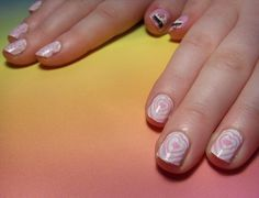 heart ring manicure