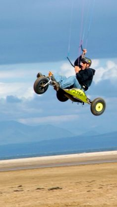 Extreme Sport: Kite Buggy