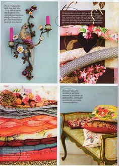 Selina LAke - varlig vintage details  My work featured in Norwegian magazine KK Interior, photographer Debi Treloar