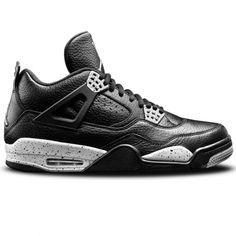 Nike Air Jordan 4 Retro LS Oreo in black. Originally released in 1999 3ca862b3b