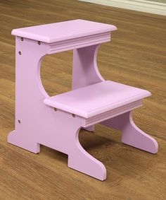 Look at this #zulilyfind! Purple Step Stool #zulilyfinds