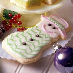 Eggnog Snowman Cookies