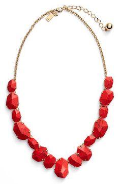 kate spade new york 'quarry gems' frontal necklace | Nordstrom $148