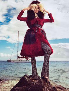 Natasha Poly for Vogue Paris by Inez and Vinoodh