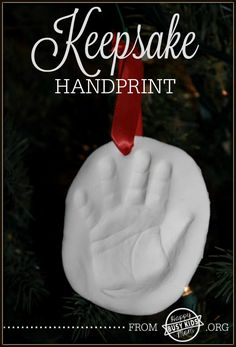 Sweet Baby Keepsake Handprint