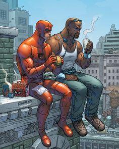 Luke Cage And Daredevil