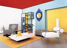 Lichtenstein inspired living area