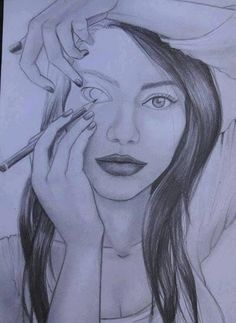 If only we could draw ourselves, we would realise there's not a lot of perfect.