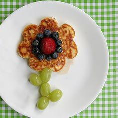 Tonya Staab's pancake flower is a great way to make Saturday mornings a little more special.