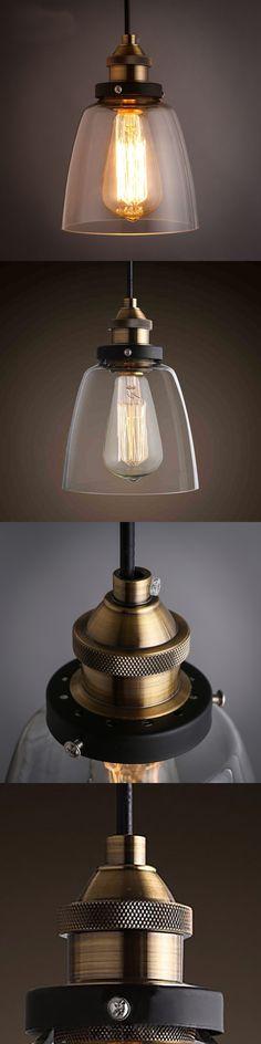 Hot Sale LEDream Grobal  Minimalist Cord Dinning Room Pendant lights American Loft Vintage Glass Pendant Lamps Glass Abajur $10