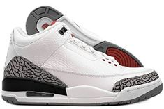 newest 089e5 8d427 Nike Air Jordan 3 Retro III 2011 White/Red/Grey Mens Basketball Shoes  136064-105 Review