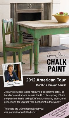 Annie Sloan chalk paint is the bomb!