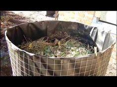 Садовый компостер своими руками. - YouTube