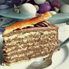 Сладкарски уроци: Как се прави торта Добош - истинска класика, а е толкова лесно! - За Жената Bulgarian Desserts, Bulgarian Recipes, Bulgarian Food, Cookie Desserts, Easy Desserts, Delicious Desserts, Poke Cakes, Lava Cakes, Junk Food