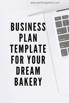 Learn why you need a business plan template for your dream bakery even if you have a small baking business. Basic Business Plan, Bakery Business Plan, Business Plan Example, Business Plan Template Free, Baking Business, Catering Business, Cake Business, Business Planner, Business Ideas