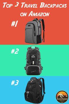 d65e173bfc5e Top 3 Travel Backpacks on Amazon  Oct. 3