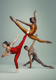 Het Nationale Ballet - junior company 2013-2014 (Michaela Deprince in gold)