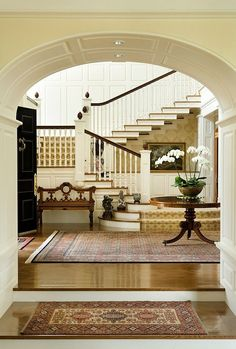 I love the orientation of the staircase. Catalano Architect and Interiors.