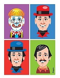 Bill Jackson in his various incarnations by Jim Engel