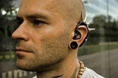 spiky hearing aid!
