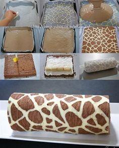 Giraffe cake! @Barbara Acosta Acosta Acosta Cameron