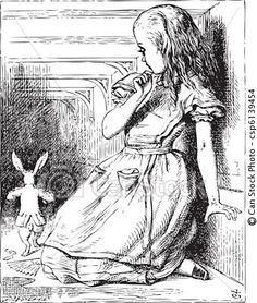 Alice in Wonderland, John Tenniel, 1865.