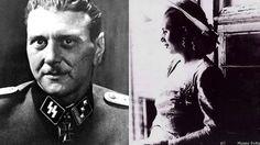 """Caracortada, el guardaespaldas nazi de Eva Perón, """"Evita"""""""